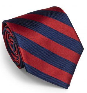 Dulles: Tie - Red/Navy