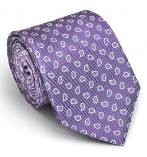 Premiere Paisley: Tie - Violet