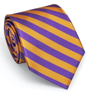 Sussex: Tie - Orange/Purple