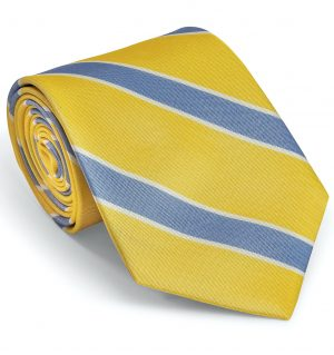 Clarke: Tie - Yellow/Blue