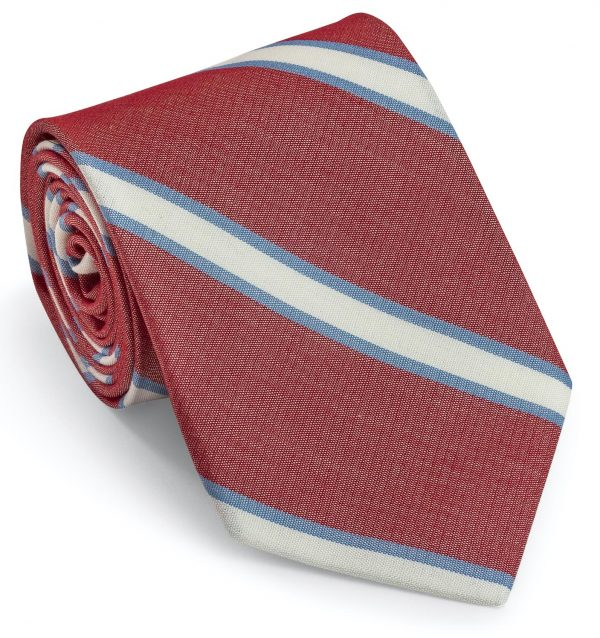 Halifax: Tie - Nautical Red