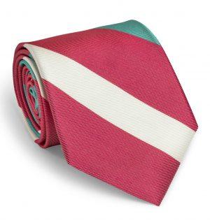Vinton: Tie - Coral/Seafoam