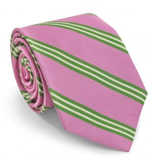 Franklin: Tie - Pink/Lime