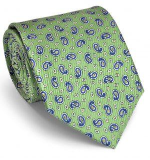 Pawleys Paisley: Tie - Mint