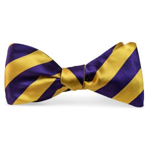 Dulles: Bow Tie - Gold/Purple
