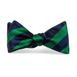 Dulles: Bow Tie - Green/Navy