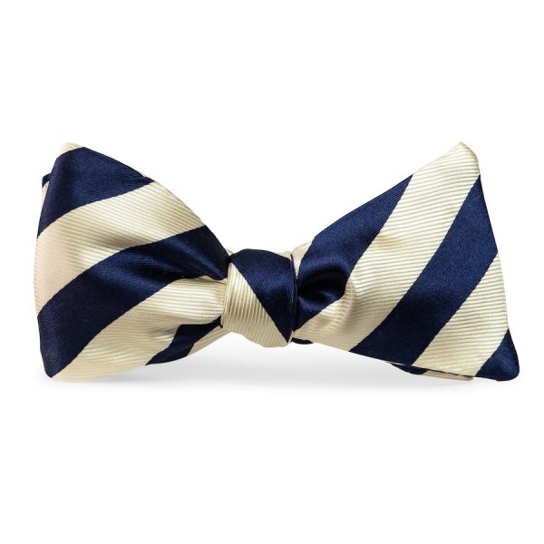 Chester: Bow Tie - Royal Blue/White