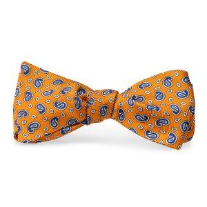 Pawleys Paisley: Bow Tie - Orange