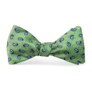 Pawleys Paisley: Bow Tie - Mint