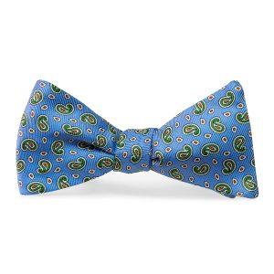 Pawleys Paisley: Bow Tie - Light Blue