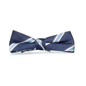 James: Boys Bow Tie - Navy