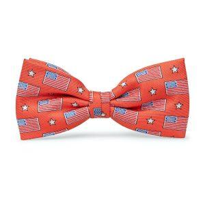 Old Glory: Boys Bow Tie - Salmon