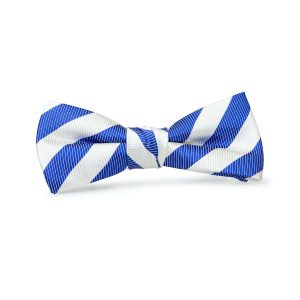 Newman: Boys Bow Tie - Royal/White