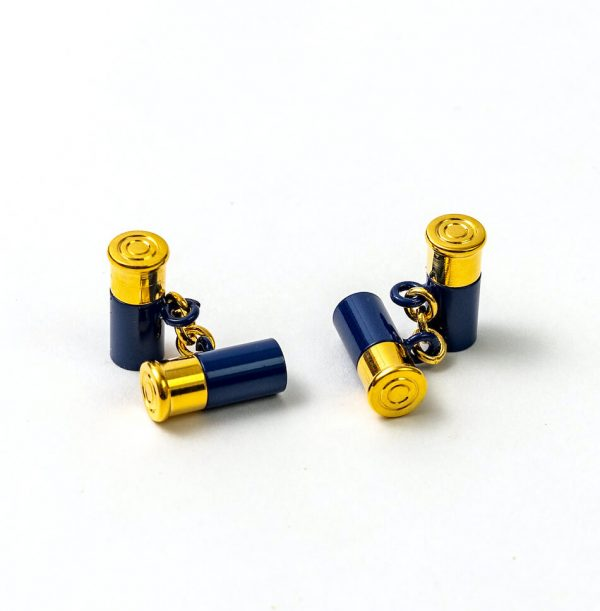 12 Gauge Cufflinks - Navy