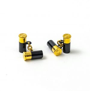 12 Gauge Cufflinks - Black