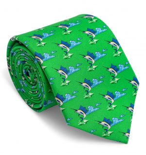 Blue Marlin: Tie - Green