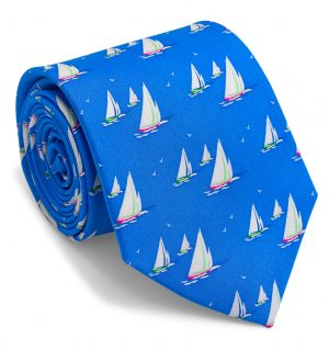 Sail Away: Tie - Blue