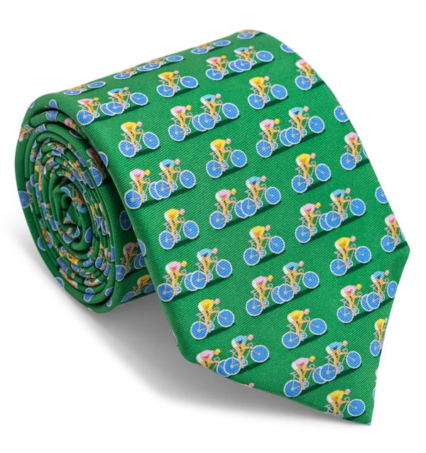 Bicycle Race: Tie - Green