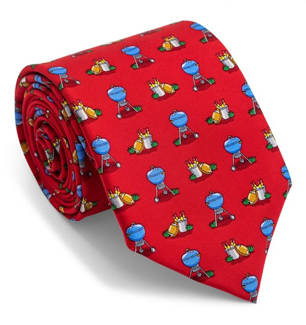 Tailgate: Tie - Red