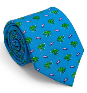Sea Turtle Surpise: Tie - Blue