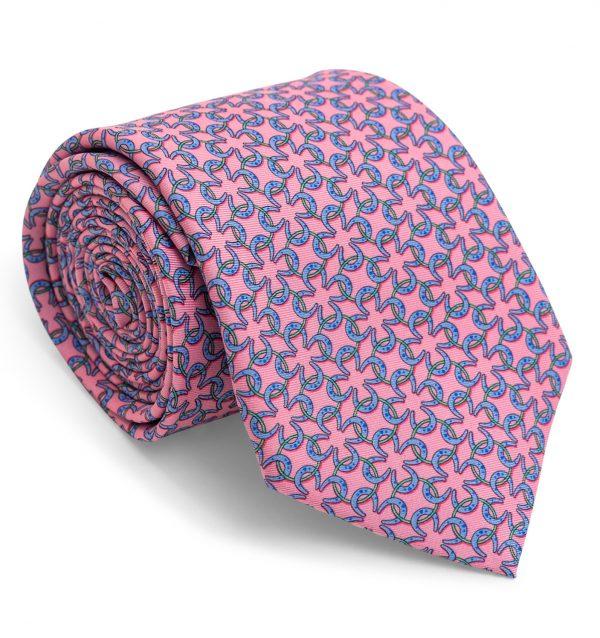Horseshoe Rings: Tie - Pink