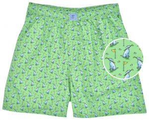Dogleg on Six: Boxers - Green
