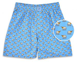 Longhorns: Boxers - Blue