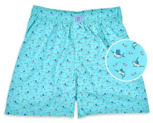 Small Bills: Boxers - Turquoise