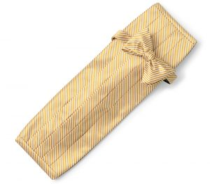 Signature Stripe: Cummerbund Set - Gold