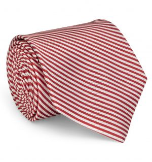 Signature Stripe: Tie - Red