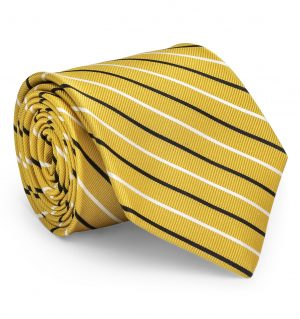 Lewis: Tie - Yellow/Black