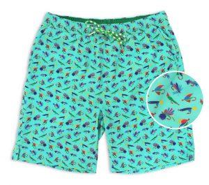 Let It Fly: Swim Trunks - Mint
