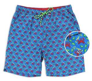 Drunken Crab: Swim Trunks - Blue