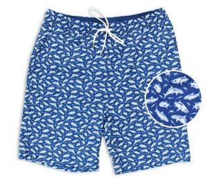 Grand Slam: Swim Trunks - Mid-Blue
