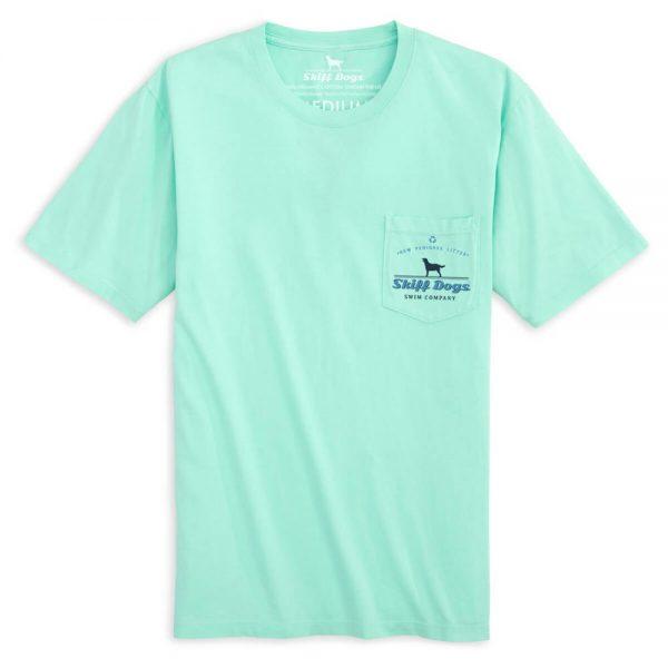 Skiff Dogs: Short Sleeve T-Shirt - Mint