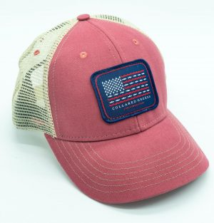 Trout Flag: Trucker Cap - Port Side Red