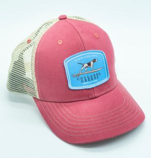 Pointer Surfer: Trucker Cap - Port Side Red