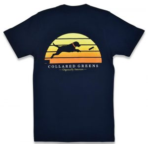 Dock Dog: Short Sleeve T-Shirt - Navy