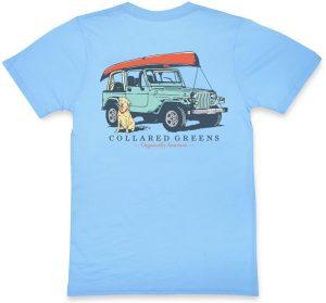 Jeep Dog: Short Sleeve T-Shirt - Carolina