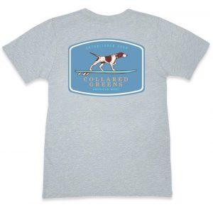 Pointer Surfer: Short Sleeve T-Shirt - Gray