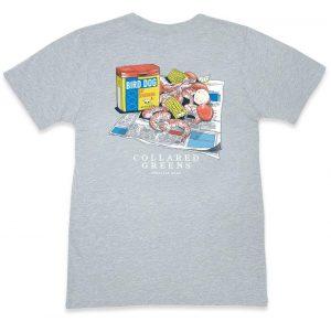Lowcountry Boil: Short Sleeve T-Shirt - Gray