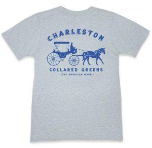 King Street Carriage: Short Sleeve T-Shirt - Gray