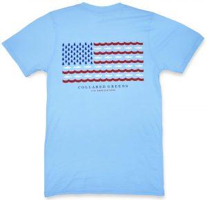 Trout Flag: Short Sleeve T-Shirt - Carolina