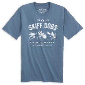 Flying High: Front Print Short Sleeve T-Shirt - Slate
