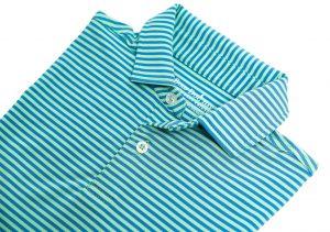 Kiawah: Performance Polo - Blue/Green