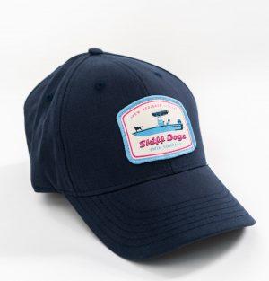 Skiff Dogs: Heritage Twill Cap - Navy