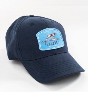 Pointer Surfer: Heritage Twill Cap - Navy