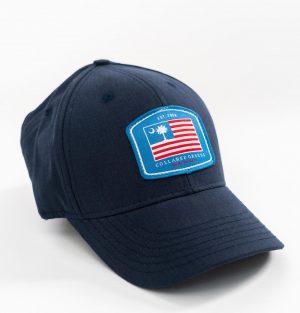 Palmetto Flag: Heritage Twill Cap - Navy